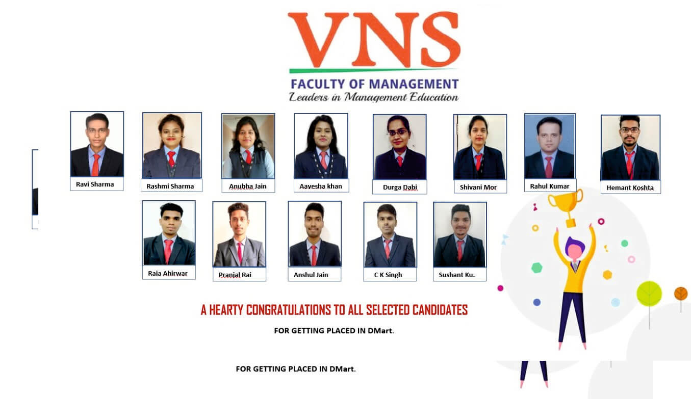 VNS MBA Placement - DMart 19 Dec 2019
